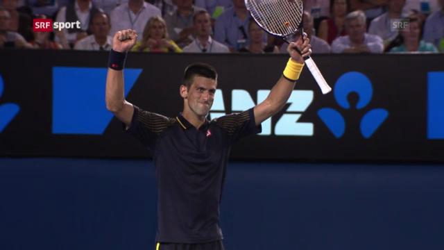 Australian Open: Halbfinal Djokovic - Ferrer