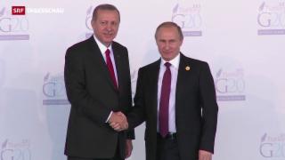 Video «Eisige Stimmung zwischen Türkei und Russland» abspielen