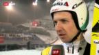 Video «Skispringen: Qualifikation Val di Fiemme» abspielen