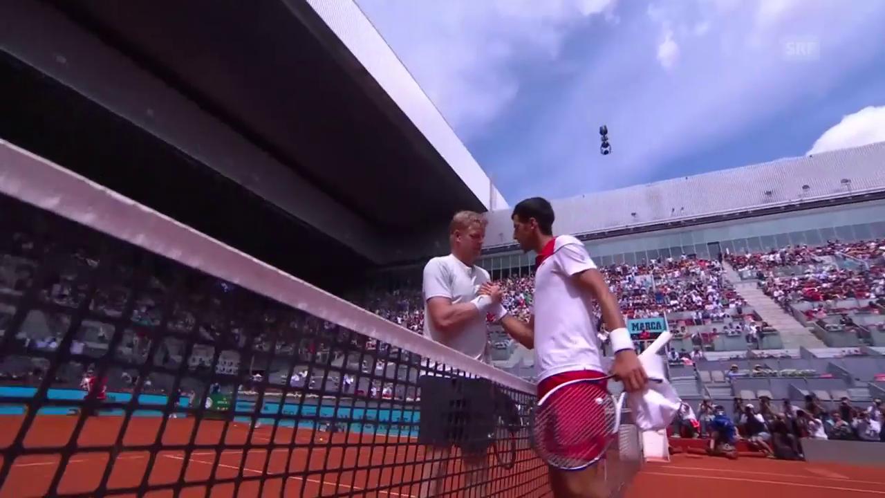 Djokovic scheitert an Edmund
