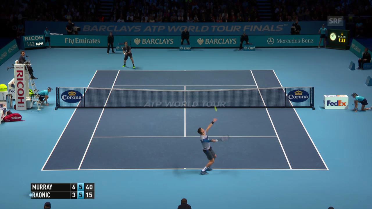 Tennis: Murray siegt gegen Raonic