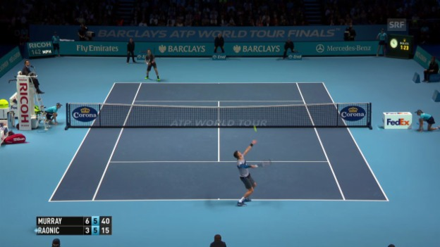 Video «Tennis: Murray siegt gegen Raonic» abspielen