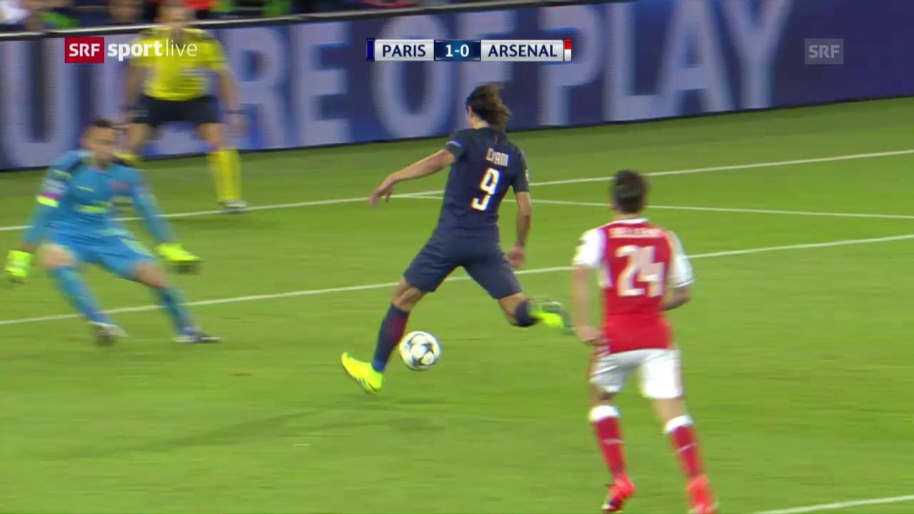 Kein Sieger bei PSG - Arsenal
