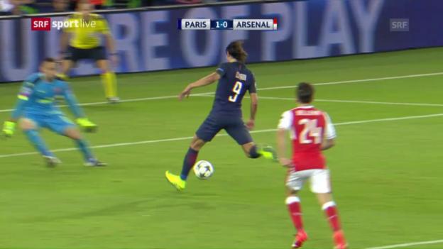Video «Kein Sieger bei PSG - Arsenal» abspielen