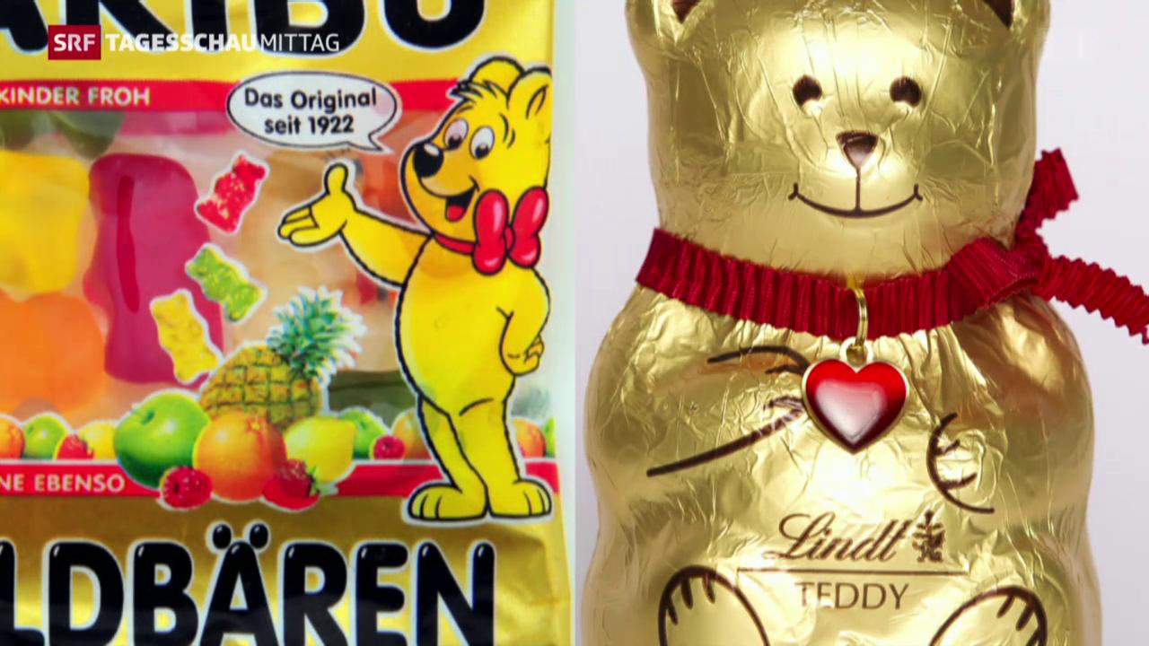 Lindt siegt gegen Haribo im Goldbärenstreit