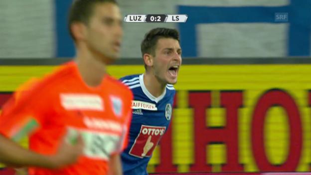 Video «Luzern verliert auch gegen Lausanne» abspielen