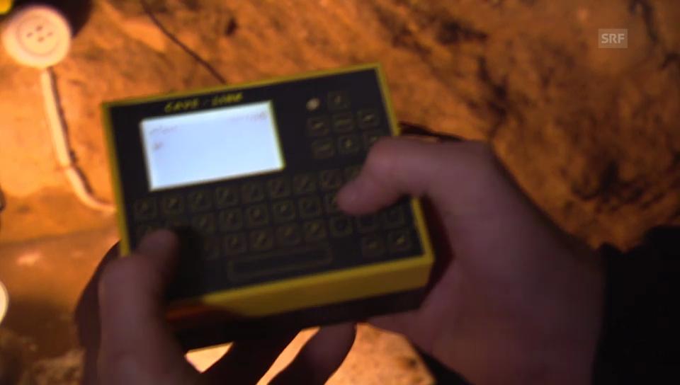 Kommunikation mit «Höhlen-SMS»