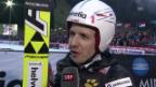 Video «Skispringen: Weltcup in Engelberg, Interview mit Simon Ammann» abspielen