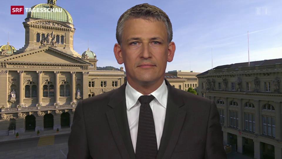 SRF-Korrespondent Nufer zur FDP-Reaktion im Fall Markwalder