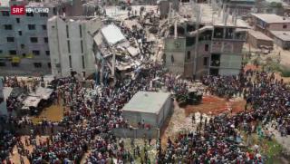 Video «Bangladesch – sechs Monate nach der Katastrophe» abspielen