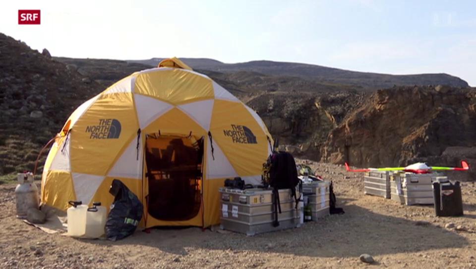 SOMMERSERIE: Das Leben im Grönland-Camp