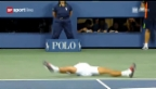 Video «US Open 2011: Final Djokovic-Nadal» abspielen