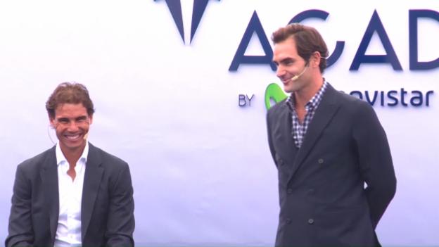 Video «Federer über Nadals Rückkehr-Fähigkeiten (SNTV, englisch)» abspielen