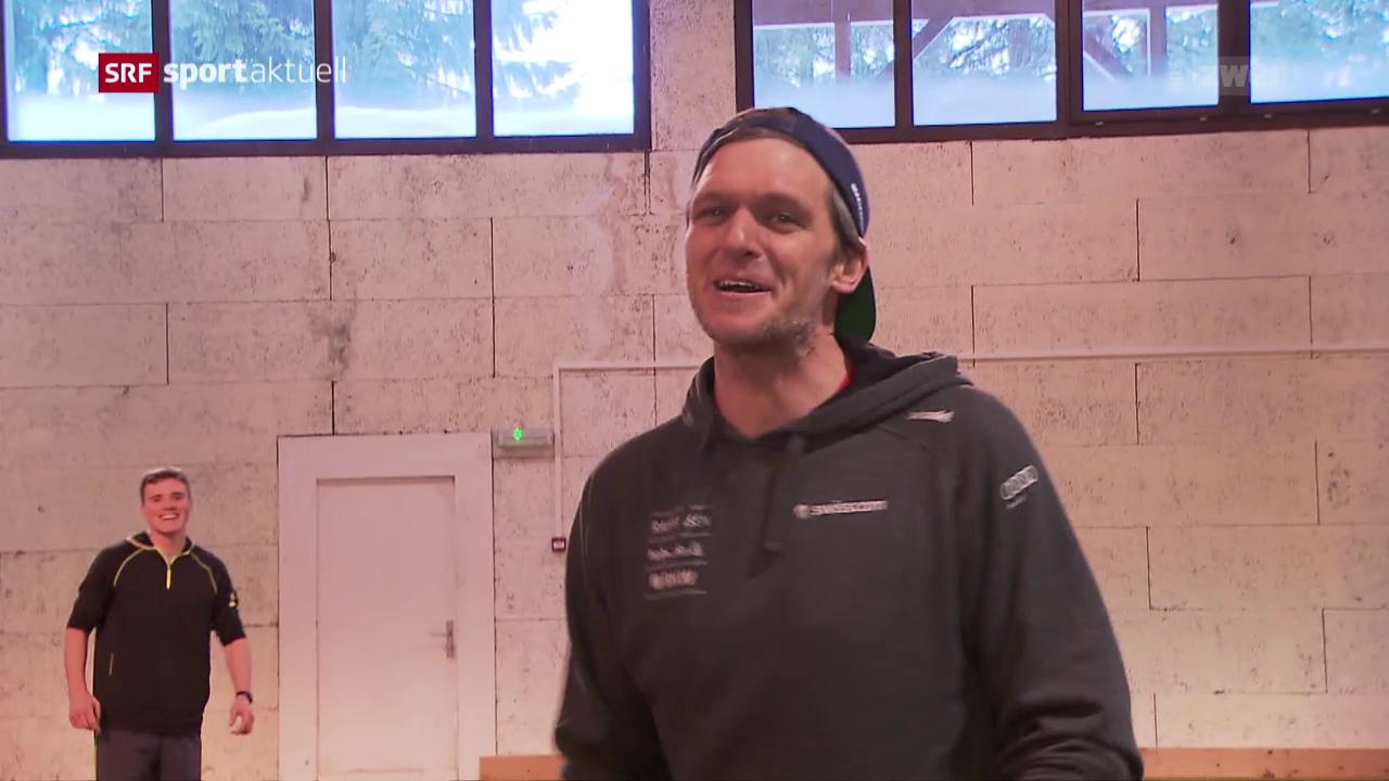 Skicross-Pionier Mike Schmid zurück im Rampenlicht