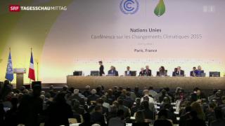 Video «Auftakt zum Weltklimagipfel» abspielen