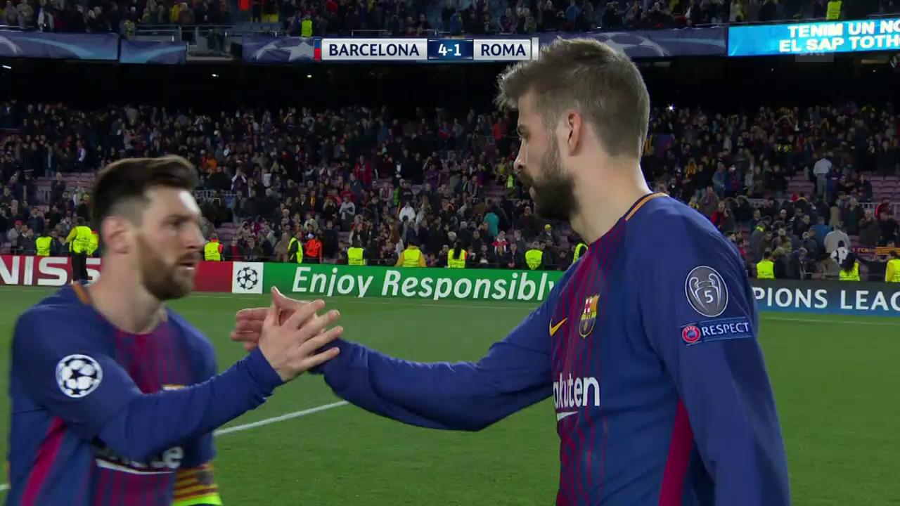 Klarer Barça-Sieg gegen die Roma