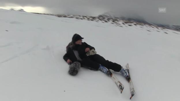 Video ««Die Skilehrer»: Hoppala! Ton-Umfall!» abspielen