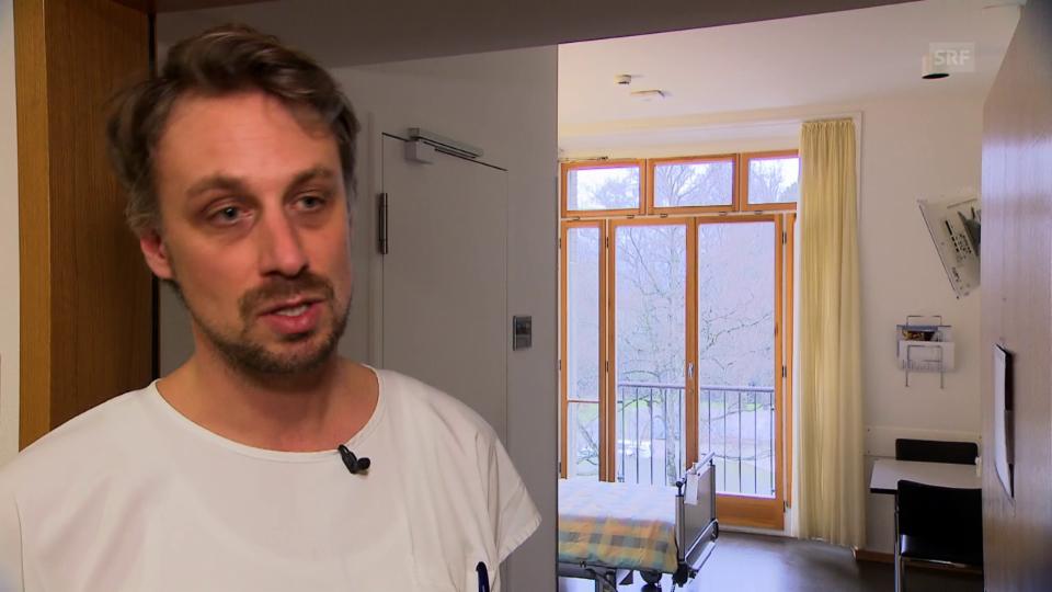USZ-Bettenmanager Christoph Krucker erklärt die typischen Probleme bei Mehrbettzimmerbelegungen.