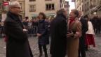 Video «Ehre für Bundespräsidentin Simonetta Sommaruga» abspielen