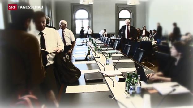Video «Leuenberger und Steinegger zur Bedeutung der Hearings» abspielen