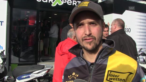 Video «Motorrad: Tom Lüthi im Interview» abspielen