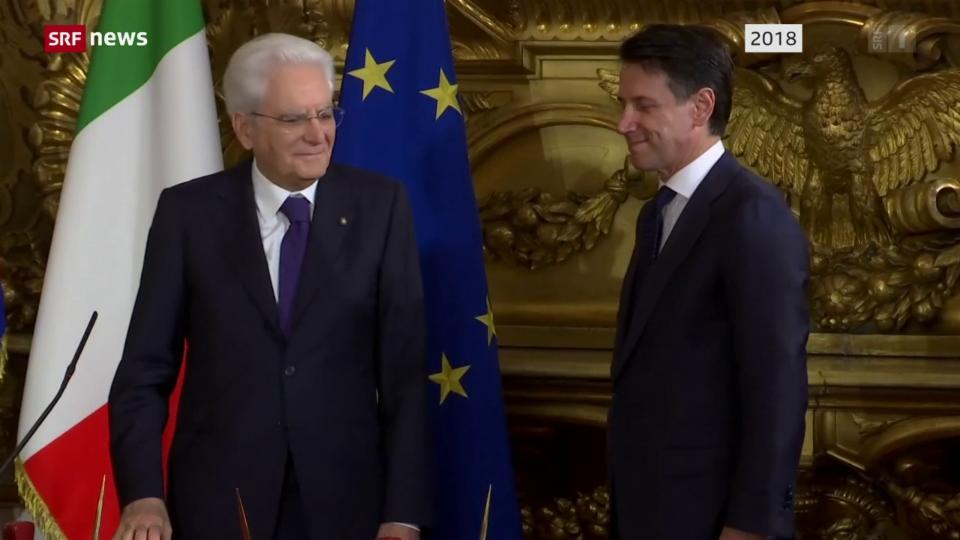 Aus dem Archiv: Ministerpräsident Giuseppe Conte tritt zurück