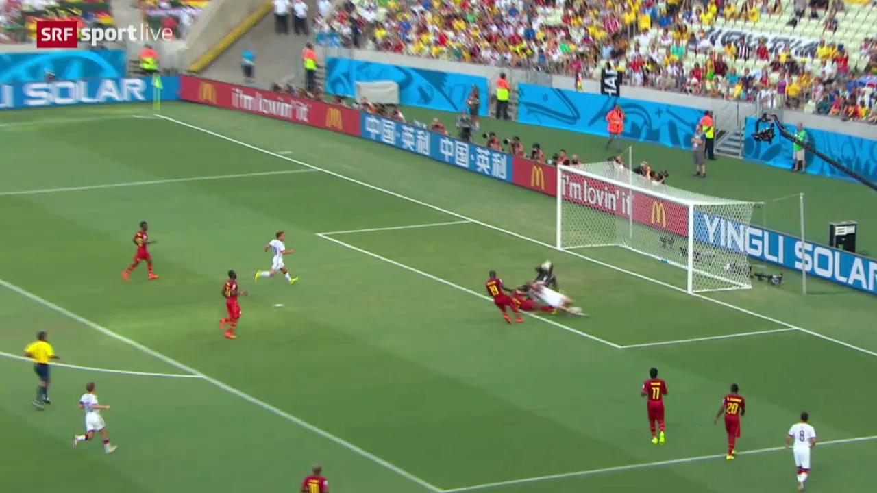 Spielbericht Deutschland - Ghana