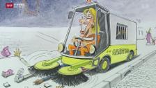Video «Berühmter Karikaturist geht in Pension» abspielen