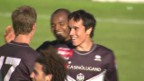 Video «Fussball: Schweizer Cup 2009, 2. Hauptrunde, GC unterliegt Lugano 0:1» abspielen