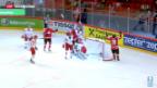 Video «Eishockey-WM: Schweiz im Viertelfinal» abspielen