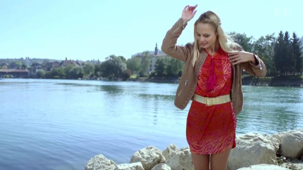 Video «Linda Fäh Gast in «Hit auf Hit»» abspielen