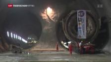 Video «Baugeschichte des Gotthard-Basistunnels» abspielen