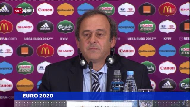 EURO 2020: 13 Stadien in 13 Ländern