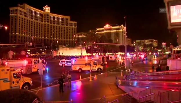 Video «Las Vegas: Auto fährt in Fussgängergruppe» abspielen