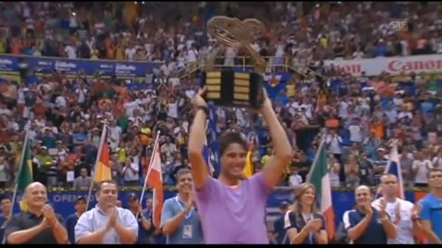 Erster Titel für Nadal nach Comeback