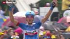 Video «Litauischer Sieg an der Tour de France» abspielen