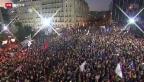 Video «FOKUS: Griechenland vor Schicksalsabstimmung» abspielen