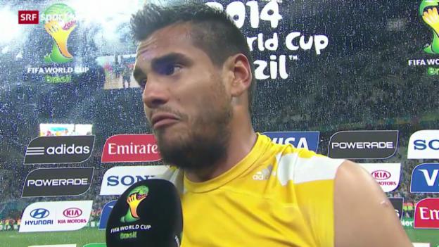 Video «FIFA WM 2014: Interview mit Sergio Romero» abspielen