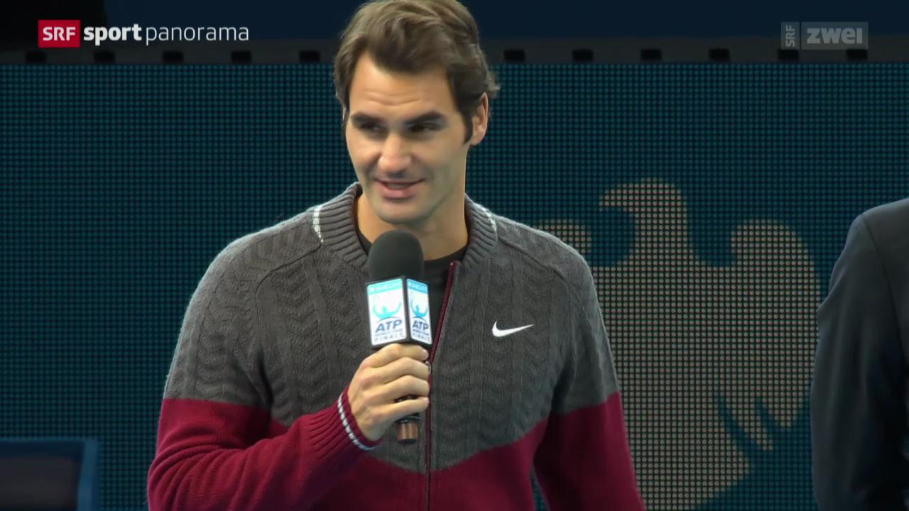 Tennis: ATP Finals, Federer erklärt Forfait