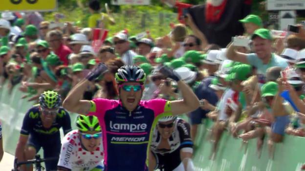 Video «Rad: Tour de Suisse, 5. Etappe» abspielen