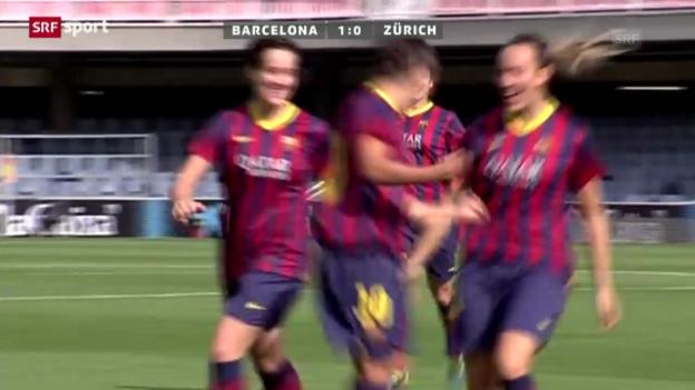 Video «CL Frauen: Barcelona-FCZ» abspielen