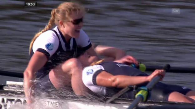 Video «Rudern: Oxford vs. Cambridge, Frauenrennen» abspielen