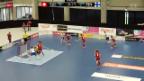 Video «Unihockey: Länderspiel, Schweiz - Finnland» abspielen