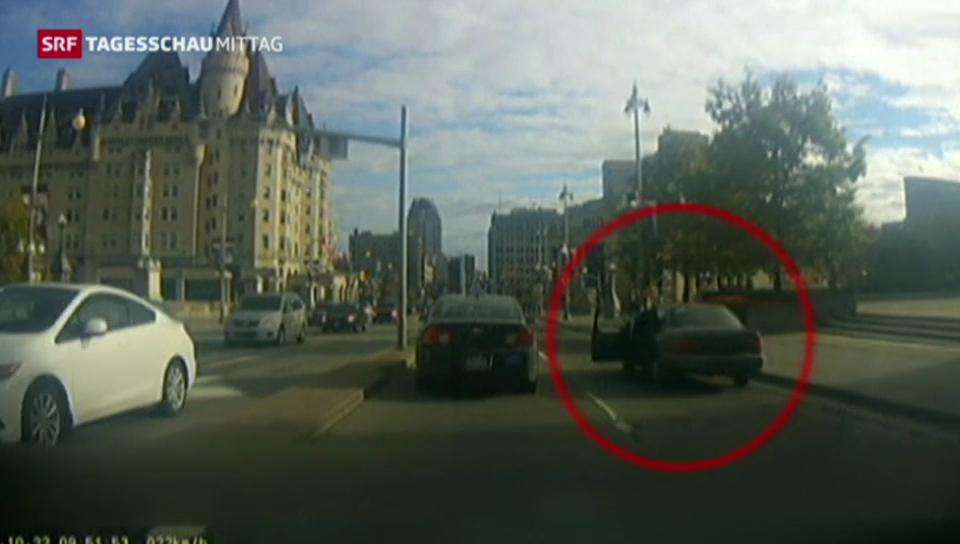 Der Weg des Ottawa-Attentäters