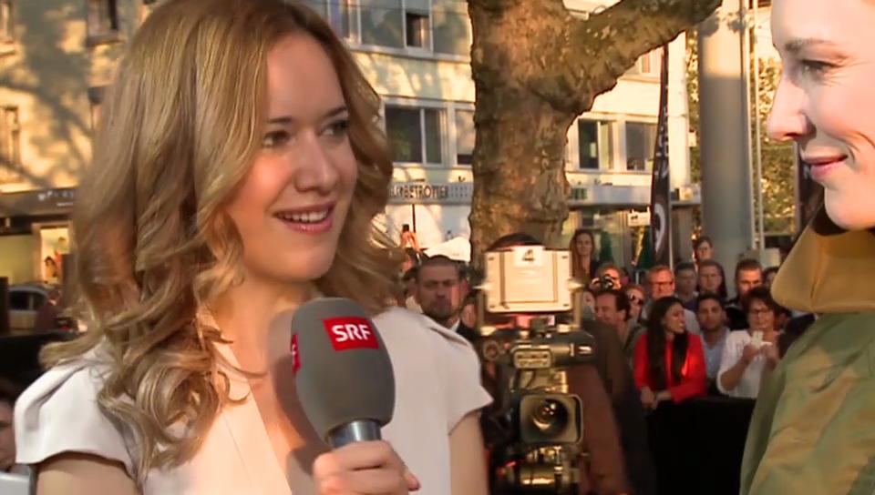 Sara Hildebrand interviewt Cate Blanchett