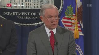 Video «US-Regierung sagt den Leaks den Kampf an» abspielen