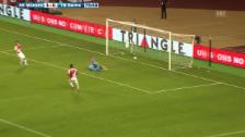 Video «Fussball: CL-Quali, Monaco - YB: die Live-Highlights» abspielen