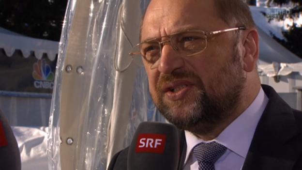 Video «Martin Schulz, Präsident Europäisches Parlament» abspielen