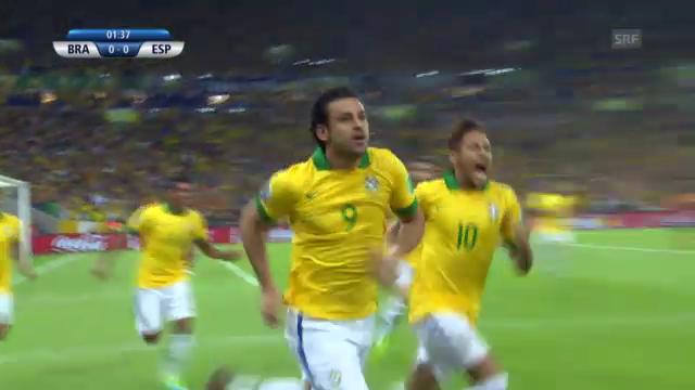 Highlights Brasilien-Spanien («sportlive»)