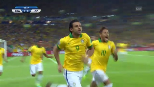 Video «Highlights Brasilien-Spanien («sportlive»)» abspielen